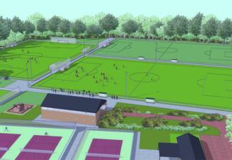 Sportvelden ruimtelijke plannen risicomanagement biodiversiteit financieel adviseur beleidsplanbezuinigen