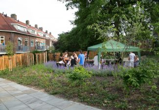 Ontwerp binnentuin bewoners participatie