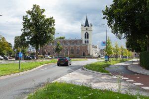 Historische analyse van het gebied rond de kerk