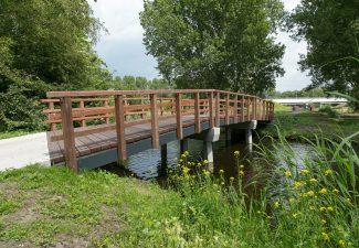 Voorbereiding vervanging voet- en fietsbruggen in het gebied Hoge dijk