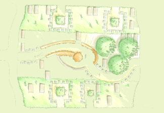 herinrichting urnentuin bestemmingsplan natuur agrarisch stedelijk ingenieur landschappen ruimtelijke ordening inrichting