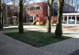 aanleg schoolplein bestemmingsplan natuur agrarisch stedelijk ingenieur landschappen ruimtelijke ordening inrichting
