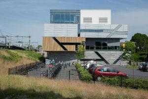 ontwerp Buitenruimte ROC Zutphen Parkeerplaatsen parkeerplaats Ruimtelijke Techniek Milieubeleid Milieu Stedelijk groen natuurbeheer natuurontwikkeling landschap natuur