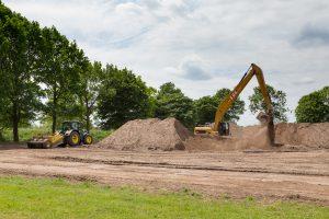 Aanleg voetbal kunstgrasveld, renovatie/reconstructie veld 2
