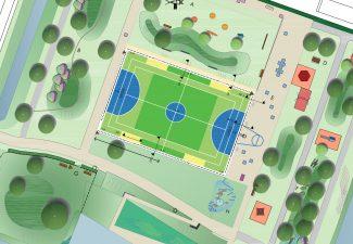 Sportcomplex ontwerp