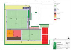 DSO KLundert korfbal sportvelden aanleggen