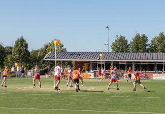 Sportvelden aanleggen