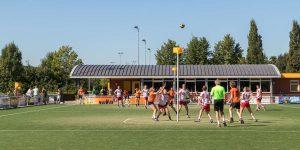 Aanleg sportvelden