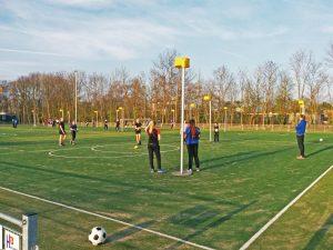 Ontwerp korfbalvelden